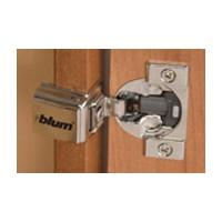 Blum 38C358B.20 COMPACT BLUMOTION 38C Face Frame Hinge, 1-1/4 Overlay, Dowel