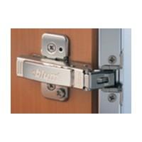 Blum 73T550A 120 Degree CLIP Top Aluminum Door Hinge, Full Overlay, Screw-on