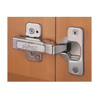 Blum 71M2650 100 Degree CLIP Top Hinge, Half Overlay, Screw-on