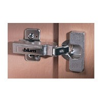 Blum 79T5590B +45 II 110 Degree CLIP Top Hinge, 45 Degree Diagonal, Full Overlay, Inserta