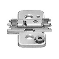Blum 173H9130 3mm Cam Adjustable Baseplate, for Wood Screws or System Screws