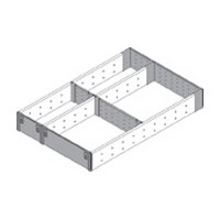 Blum ZHI.533FI3A 11-9/16 W Utensil Drawer Insert Set - 3-Tier, Blum ORGA-LINE Series