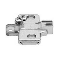 Blum 5615333 0mm Modul Plate, Adjustable Height, Pre-mounted Screw