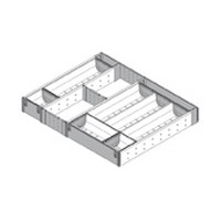 Blum ZHI.533TI4A 15-3/4 To 16-1/2 W Cutlery Drawer Insert Set - 4-Tier, Blum ORGA-LINE Series