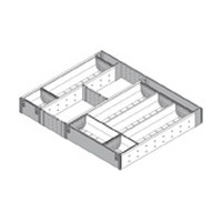 Blum ZHI.533TI5A 18-3/4 To 19-1/2 W Cutlery Drawer Insert Set - 5-Tier, Blum ORGA-LINE Series