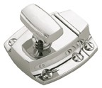 "Amerock BP55315PN, Polished Nickel 1-3/5"" Latches, Zinc Die Cast, Center to Center 1-3/5"""