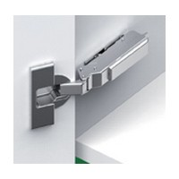Grass F045138308228 120 Degree Tiomos Selfclose Hinge, 19mm Full Overlay, Dowel, 42mm Boring Pattern