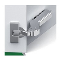 Grass F028138532223 110 Deg Tiomos Softclose Hinge, 37 Deg Diagonal Corner, Inset, Screw-on