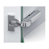 Grass F028138533223 110 Deg Tiomos Softclose Hinge, 45 Deg Angle Corner, Overlay, Screw-on
