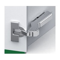 Grass F028138534223 110 Deg Tiomos Softclose Hinge, 45 Deg Angle Corner, Inset, Screw-on