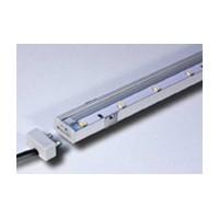 Rev-A-Shelf L-LED-SMP22-WNI-10, 9 Watt LED Strip Light, SimpLED, 22 L, 12V, Low Voltage, Surface Mount, Warm White, Nickel
