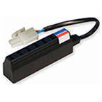 """WE Preferred L-MNTBL-1 Terminal Block with 6-AMP Ports & 6"""" wire, L-PRO-MNTBL-1"""