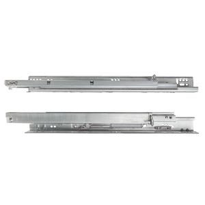 """18"""" MUV+ Full  Extension Undermount Drawer Slide, 120 lb, Galvanized, Knape and Vogt MUV34HDAB 18"""