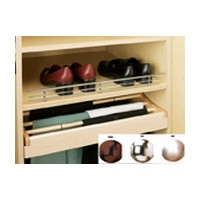 Rev-A-Shelf CSR-17ORB-10, Wire Shoe Rail, 17 L x 2-1/4 H, Oil Rubbed Bronze