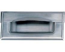 "Component Hardware Group Inc P63-1012-SP1, Stainless Steel 4-3/4"" Recess Pull, Stainless Steel"