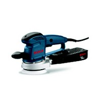 Bosch 3725DEVS, Sander, 5in 8-Hole Hook and Loop, Vacuum, 3.3 Amps, 4,500 – 12,000 RPM, 3/32 Orbit