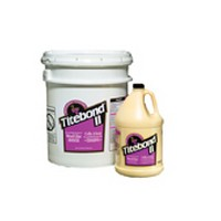 Franklin 2316, 1 Gallon Titebond II Fluorescent Glue, Honey Cream Color, Dries Translucent