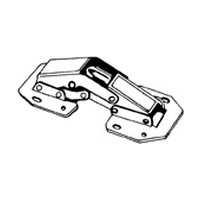Atlantic Hardware CS01-R, Locking Easy-on Hinge