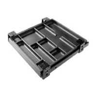 Fulterer FR1535BL, Pencil Drawer Pull-Out, Top Mount Trays, Tray Width 12-5/8