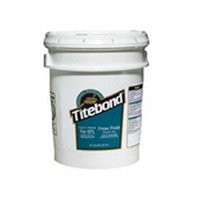 Franklin 4617, 5 Gallon Titebond Cold Press Glue, Off White Color, Dries Translucent