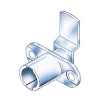 CompX Timberline CB-188 Timberline Lock Cylinder Body Only, Horizontal Mount, 180 Deg Rotation, Cylinder Length 3/4, Setback 15/32, Cam Ext 1-1/4