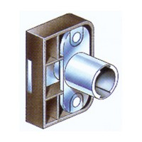 CompX Timberline CB-290 Timberline Lock Cylinder Body Only, Deadbolt Lock, Vertical Mount, 3/4 Material, 180 Deg Rotation, Cylinder 3/4, Setback 9/32, Cam Ext 13/16, Cam Throw 3/8