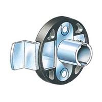 CompX Timberline CB-244 Timberline Lock Cylinder Body Only, Deadbolt Lock, Vertical Mount, 3/4 Material, 180 Deg Rotation, Cylinder 3/4, Setback 19/32, Cam Ext 1-1/2, Cam Throw 1/2