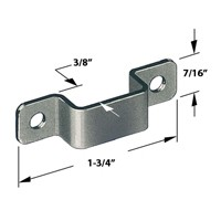 CompX Timberline SP-251-3, Timberline Lock Accessories, Strike Plate for Deadbolt Locks, Black