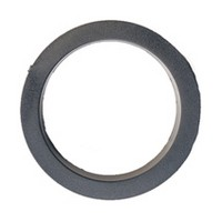 Hughes H404BP-100, Round Plastic Grommet Liners, Bore Hole: 2-1/2 Dia, Brass, 100-Pack