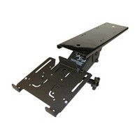 KV Waterloo 5735D, Keyboard Arm with Keyboard Platform Clamp, Black Powder Coat