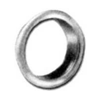 CompX C2017-4G, Disc & Pin Tumbler Lock Trim Ring, 7/8 dia., Antique Brass