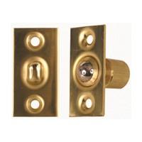 Allegion US 44074076790, Ball Catch, Adjustable, Bright Brass