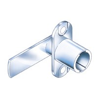 CompX Timberline CB-197 Timberline Lock Cylinder Body Only, Vertical Mount, 180 Deg Rotation, Cylinder Length 3/4, Setback 9/32, Cam Ext 1-23/32in