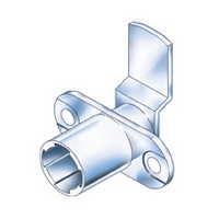 CompX Timberline CB-088 Timberline Lock Cylinder Body Only, Horizontal Mount, 90 Deg Rotation, Cylinder Length 3/4, Setback 15/32, Cam Ext 1-1/4