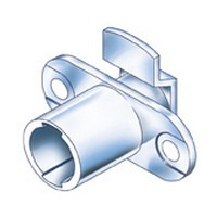 CompX Timberline CB-180 Timberline Lock Cylinder Body Only, Horizontal Mount, 180 Deg Rotation, Cylinder Length 3/4, Setback 3/32, Cam Ext 13/16in