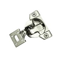 Grass 04616-16 TEC 861 Hinge, Side Mount, 7/16 Overlay, Dowel, 42mm Boring Pattern