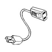 Specialty Lighting 7000-0667, 6 L T-Female Adapter Cord, for Canister Lights