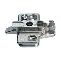 Grass 315.393.55.0815 8mm Nexis Wing Plate, Cam Adjustable, Screw-on, Diecast