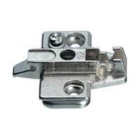 Grass 315.393.55.0015 0mm Nexis Wing Plate, Cam Adjustable, Screw-on, Diecast