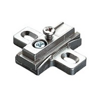 Salice B2V3BW9R/15, Diecast Mounting Plate, Screw In, 7.5 Degree