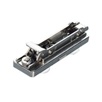 Salice BAP7R09, 0mm Diecast Mounting Plate, 2 Cam, Dowel