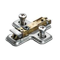 Salice BAVGL69F/16, 6mm Steel Mounting Plate, Cam Adjustable, Euro Screw