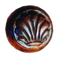 Grand River KNB-15B-B, Gardenia Small Linden Wood Knob - Unfinished, Gardenia Small Collection