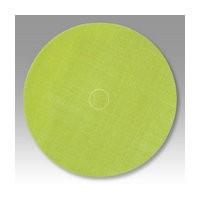 3M 51141274874 Abrasive Discs, Trizact Film, 5in, No Hole, Hook & Loop, Green