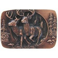 Notting Hill NHK-136-AC, Bucks On The Run Knob in Antique Copper, Great Outdoors