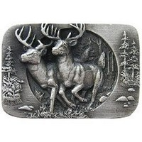 Notting Hill NHK-136-AP, Bucks On The Run Knob in Antique Pewter, Great Outdoors