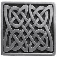 Notting Hill NHK-157-AP, Celtic Isles Knob in Antique Pewter, Jewel Collection