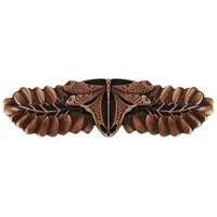 Notting Hill NHP-607-AC, Dragonfly Pull in Antique Copper, All Creatures Collection