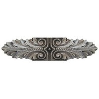 Notting Hill NHP-625-SN, Opulent Scroll Pull in Satin Nickel, Classic Collection