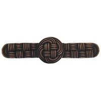 Notting Hill NHP-639-AC, Classic Weave Pull in Antique Copper, Classic